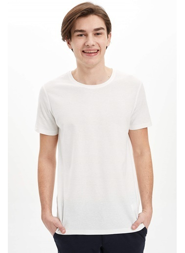 DeFacto Slim Fit T-Shirt Beyaz